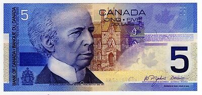 2005 Canada 5 Dollar Insert Note - HOW9916788, BC-62bA