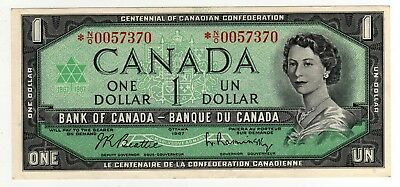 1967 Canada 1 Dollar Replacement Note - Out of Register - *NO0057370, BC-45bA