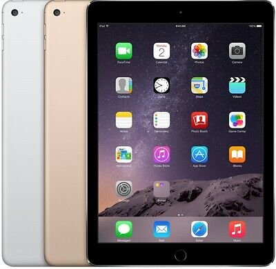 Apple iPad Air 2 64GB - Space Gray Gold Silver - WiFi + Cellular | Excellent (A)