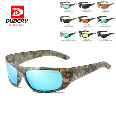 DUBERY Men Vintage Polarized Sunglasses Driving Shades Eyewear Shades UV400 Cool