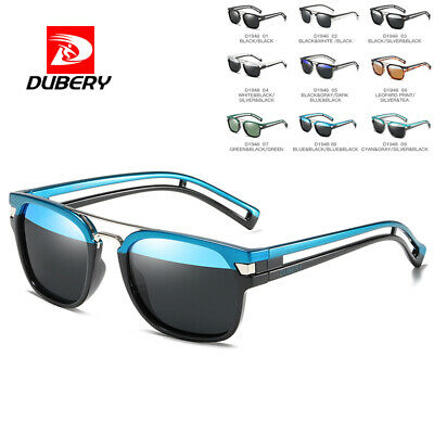 DUBERY Mens Womens Vintage Polarized Sunglasses Driving Shades Eyewear UV400 New