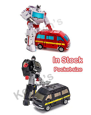 Transformers Newage NA H7 Mccoy mini Ironhide NA H8 MILLER mini Ratchet In stock