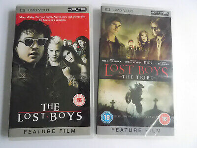 * Psp Umd * The Lost Boys + Lost Boys The Tribe * Movie/Film *Vg* Region 2/Pal *