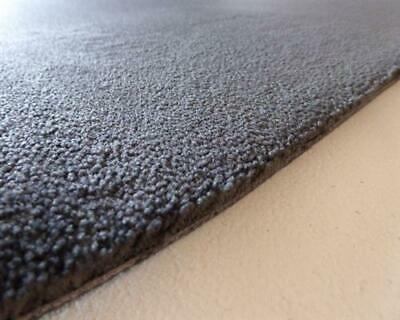 19,90 Euro/M ² Tapis de Voiture 15mm Gros Luxe Velours Gris Anthracite 200cm