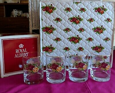 Royal Albert OLD COUNTRY ROSES Glasses