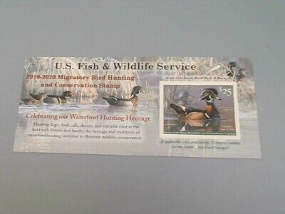 2019 - 2020 - US Federal Duck Stamp - Post Office