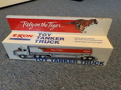 Exxon Collectible Toy Tanker Truck