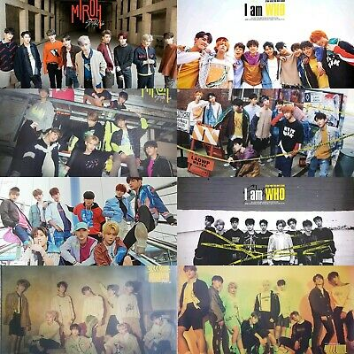 Official Stray Kids Poster Cle 1 Cle 2  (Select Type) [Kpoppin Usa] Kpop