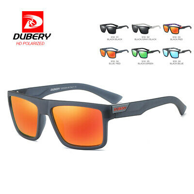DUBERY Mens Vintage Polarized Sunglasses Driving Fishing Eyewear Shades UV400 yu