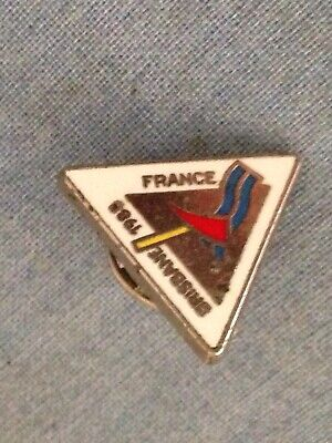 1988 Brisbane EXPO Badge In Good Nick. ( France). With Clip