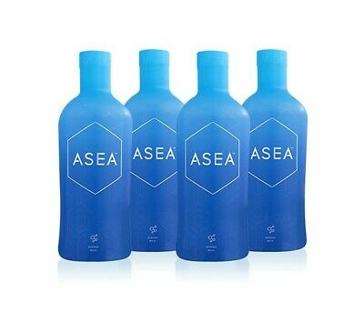 New and Improved ASEA Redox Supplement Water - 1 Full Case (4x960ml Bottles)