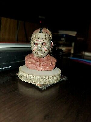 """""""Ones custom""""  jason voorhees Friday the 13th 2009 remake head sculpt and mask"""