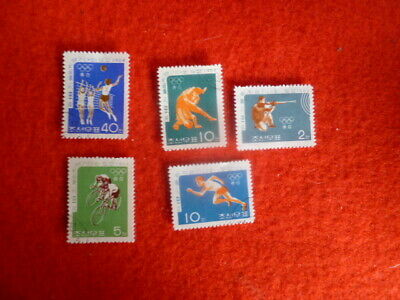 Olympics Games 1964 5 Stamps Used