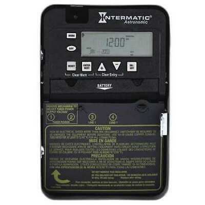 INTERMATIC ET8015C Electronic Timer,Astro 7 Days,SPST