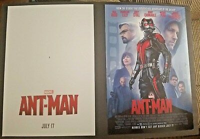 Ant Man (2015) 13 x 19 Original Studio Theatrical Movie 2SD Poster NOT A REPRINT