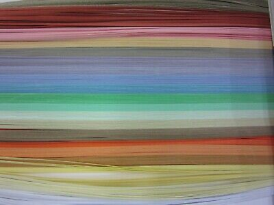 QUILLING PAPER 110gsm 1.5mm 500 Strips - 20 MIXED PASTEL COLOURS