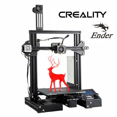 2019 Newest Creality Ender 3 Pro 3D Printer 220X220X250mm Mean Well Power Gifts