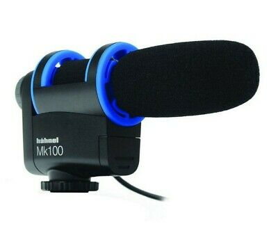 Hahnel Mk100 Uni-Directional Microphone for DSLR Cameras and Video Camcorders