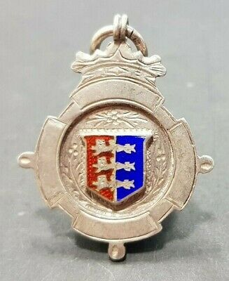 Vintage Sporting Silver Fob Medal Pendant Arnold Cup by Charles Usher