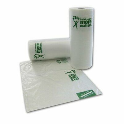 SafePro 1015,10x15-Inch Produce Polyethylene Bags on a Roll,Disposable Food Bags