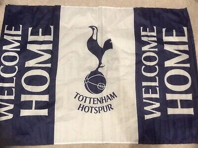 OFFICIAL FLAG: Welcome Home Tottenham Spurs New Stadium Against Crystal Palace