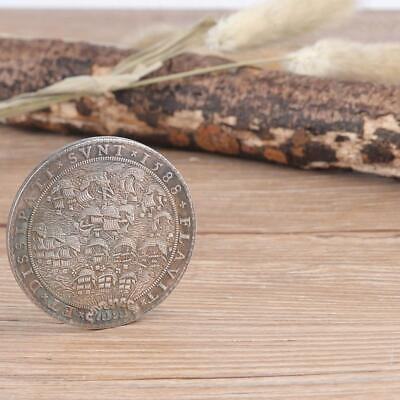 1588 Netherlands Brass Plating Silver Vintage Commemorative Coin Collection Coin