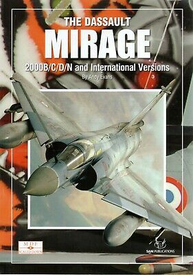 The Dassault Mirage Modellers Datafile Scaled Down 8 - Sam Publications
