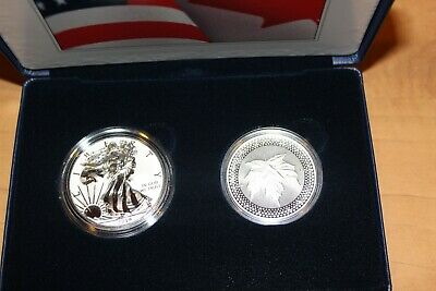 2019 Us Mint Pride Of Two Nations Two Coin Set Ogp Coa In Stock