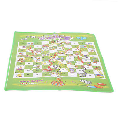 Snakes and Ladders Traditional Board Game Kids Children Adult Family Fun J