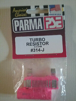 PARMA 265 TURBO 2 5 Ohm Slot Car Hand Controller from Mid