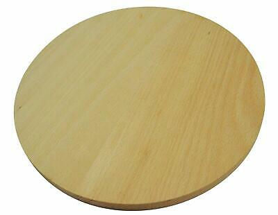 Round circular wooden chopping board cutting pizza wood double-sided 55cm /Type2