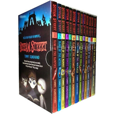 Scream Street Collection 12 Books Box Gift Set By Tommy Donbavand NEW