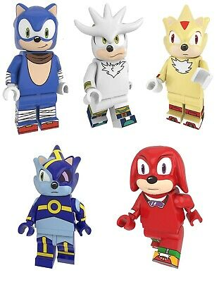 KNUCKLES FROM SONIC THE HEDGEHOG VIDEO GAME MINI FIGURE USA SELLER NIP