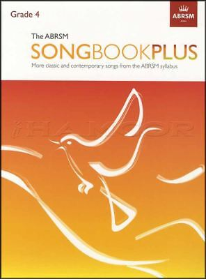 The ABRSM Songbook Plus Grade 4 Vocal Sheet Music Book Classic Contemporary Song