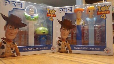 Disney: Pixar: Toy Story 4: Pez Gift Set (Woody & Bo Peep) (Buzz & Alien)