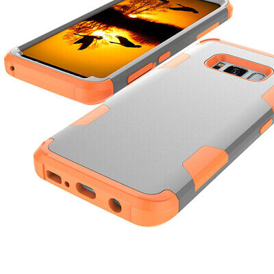 360 Hybrid Armor Shockproof Hard Phone Case Cover For Samsung S10 S9 Note 9 S8