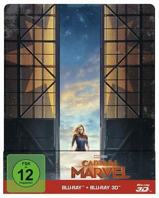 Captain Marvel [3D+2D Blu-ray] [Limited Steelbook Edition];OVP