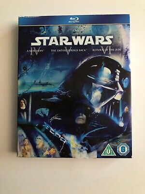 Star Wars Original Trilogy - Episodes 4-5-6 (3 Blu-Ray) Blu-Ray