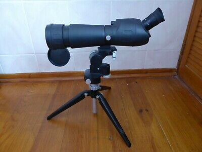 Optus Spotting Scope With Adjustable Tripod. 20 X 40 X  And 60 X Magnification