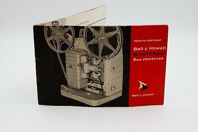 User Manual for a Bell & Howell Monterey 8mm Projector