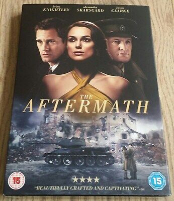 The Aftermath DVD. (Keira Knightley, Alexander Skarsgård, Jason Clarke)