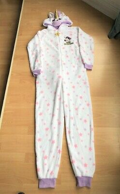 Ladies Girls Unicorn Fleece All in One - Size Small 6/8 - MINT CONDITION