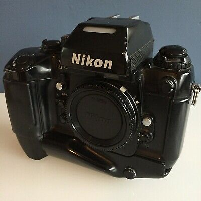 NIKON F4S 35mm SLR Film Body with MB21 Battery Holder & MF23 Multi Control Back