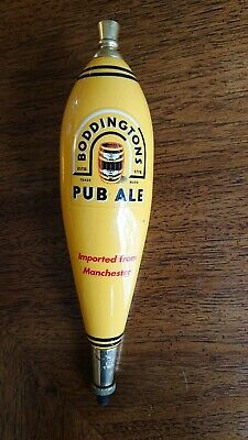 BODDINGTONS PUB ALE Ceramic or Wood BEER TAP HANDLE Imported from Manchester