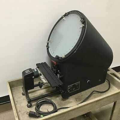"SPI Optical Comparator Profile Projector, 12"" Screen Diameter, 10x Magnification"
