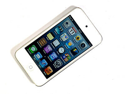 Apple iPod touch 4th Generation 8GB - White POOR CONDITION, WORKS WELL 885