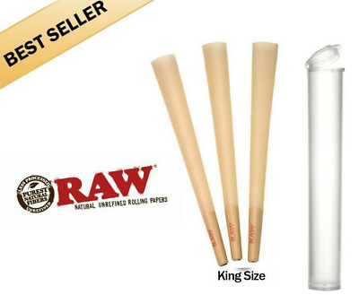 50 Pack| RAW Classic Cones King Size Authentic Pre-Rolled Cones w/Filter &Gift🔥