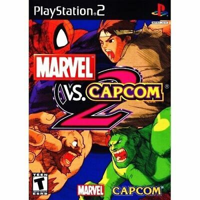 USED PS2 MARVEL VS  CAPCOM2 New Age of Heroes Japan import