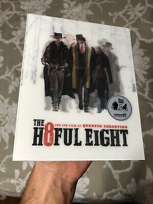 The Hateful Eight (The H8ful Eight) Blu Ray Steelbook KimchiDVD Lenticular Slip