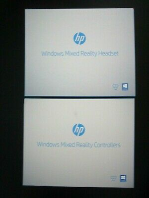 HP Windows Mixted Reality Headset + Controllers Bundle New